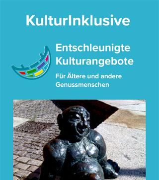 Titelseite Flyer KulturInklusive