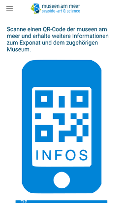 Screenshot Museumsmeilen-App
